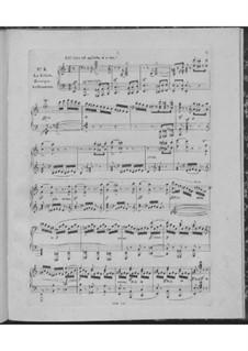 Huit nocturnes romantiques de différents caractères, Op.604: No.4 La colère by Carl Czerny