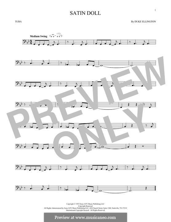 Satin Doll: For tuba by Billy Strayhorn, Duke Ellington