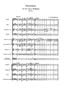 Fragments: Overture and Act I by Ludwig van Beethoven
