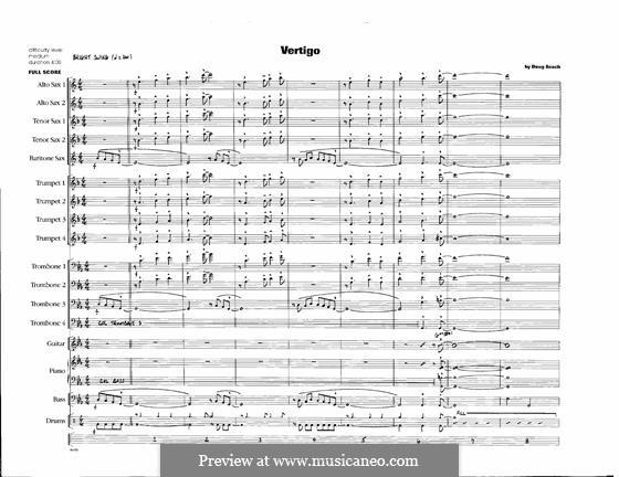 Vertigo: Full Score by Doug Beach