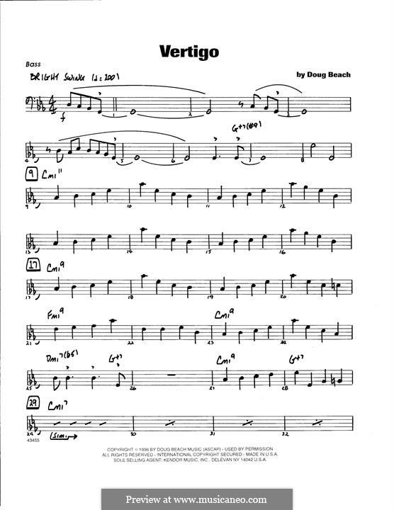 Vertigo: Bass part by Doug Beach
