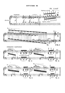 Grand Etudes de Paganini, S.141: No.2 in E Flat Major (with fingering) by Franz Liszt