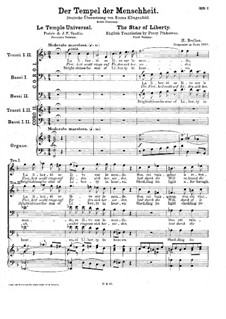 Le temple universel, H.137 Op.28: First version by Hector Berlioz