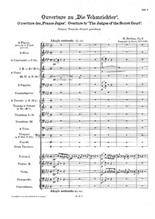 Les francs-juges. Overture, H.23 Op.3: Full score by Hector Berlioz