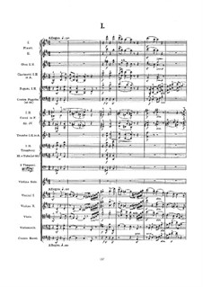 Concerto for Violin and Orchestra, Op.61: Full score by Edward Elgar