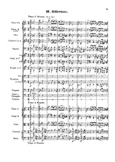 Symphony No.2 in A Minor 'From Knight Time', Op.34: Movements III-IV by Emil Hartmann