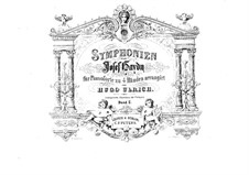 Symphony No.97 in C Major, Hob.I/97: Version for piano four hands by Joseph Haydn