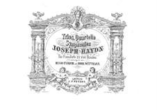 Piano Trio No.45 in E Flat Major, Hob.XV/29: Version for piano four hands by Joseph Haydn