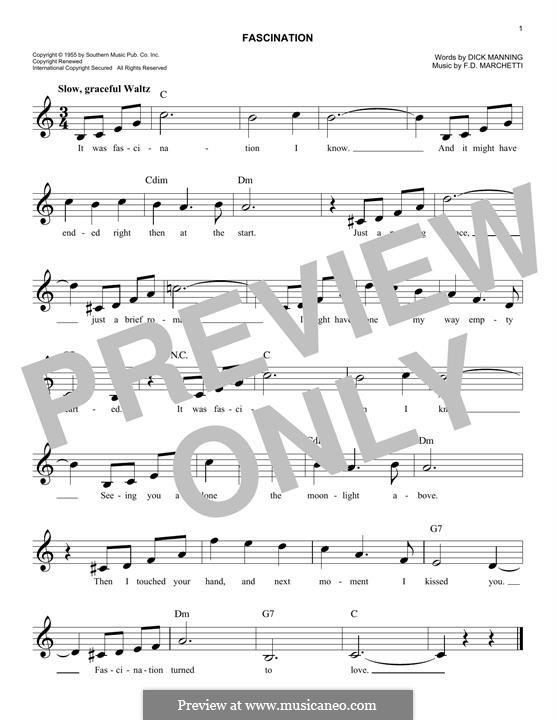 Fascination: For keyboard by Fermo Dante Marchetti