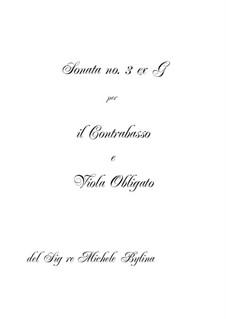 Sonata No.3 G-dur in the Viennese Style: Sonata No.3 G-dur in the Viennese Style by Michał Bylina