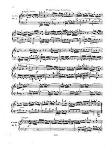 Complete set, BWV 772-786: Edited by C. Czerny by Johann Sebastian Bach
