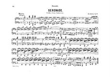 String Trio No.2 in D Major 'Serenade', Op.8: Version for piano four hands by Ludwig van Beethoven