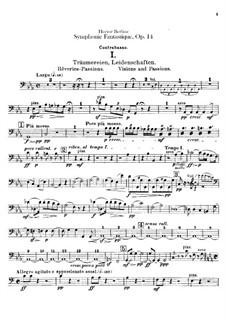 Symphonie fantastique (Fantastic Symphony), H.48 Op.14: Double basses part by Hector Berlioz