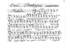 Circé: Bass part by Henri Desmarets