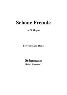 No.6 Schöne Fremde (In a Fair and Foreign Land): G Major by Robert Schumann