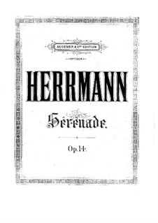 Serenade for String Orchestra, Op.14: Serenade for String Orchestra by Eduard Herrmann