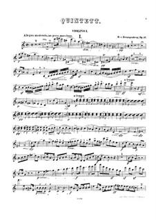 Piano Quintet in C Major, Op.17: Piano Quintet in C Major by Heinrich von Herzogenberg