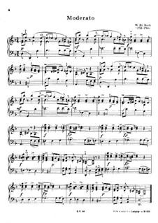 Moderato in D Minor: Moderato in D Minor by Wilhelm Friedemann Bach