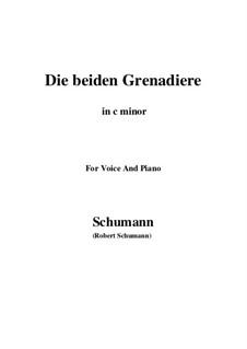 Romances and Ballades, Op.49: No.1 Two Grenadiers (c minor) by Robert Schumann