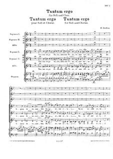 Tantum ergo for Soloists, Choir and Organ, H.142: Tantum ergo for Soloists, Choir and Organ by Hector Berlioz
