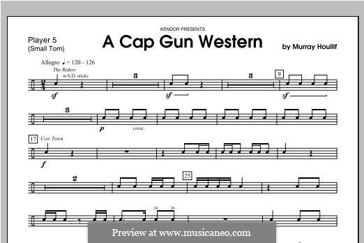 A Cap Gun Western: Percussion 5 by Murray Houllif