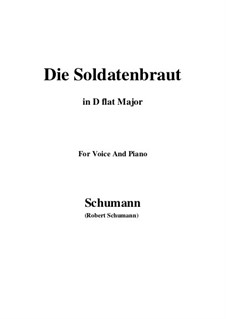 Romances and Ballades, Op.64: No.1 Die Soldntenbraut (D flat Major) by Robert Schumann