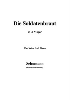 Romances and Ballades, Op.64: No.1 Die Soldntenbraut (A Major) by Robert Schumann