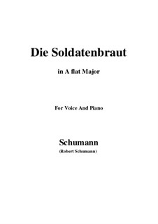 Romances and Ballades, Op.64: No.1 Die Soldntenbraut (A flat Major) by Robert Schumann