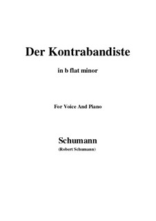 Spanish Folk Songs, Op.74: No.10 El Contrbandista (The Smuggler) b flat minor by Robert Schumann