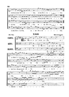 Ecce Maria genuit nobis Salvatorem: Ecce Maria genuit nobis Salvatorem by Orlande de Lassus
