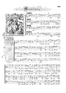 Mass 'Octavi Toni': Movement IV by Orlande de Lassus