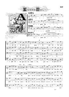 Mass 'Octavi Toni': Movement V by Orlande de Lassus
