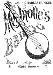 Melnotte's Banjo: For piano by Claude Melnotte