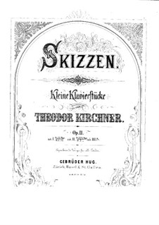 Sketches, Op.11: Book III by Theodor Kirchner