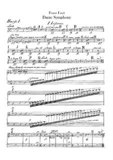 Dante Symphony, S.109: Harps I-II parts by Franz Liszt