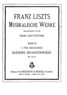 Two Episodes from Lenau's Faust, S.110: No.1 Midnight Procession by Franz Liszt