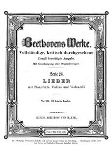Twenty-Five Irish Songs, WoO 152: Twenty-Five Irish Songs by Ludwig van Beethoven
