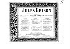 Organ Music. Second Collection: Book II by Jules Grison