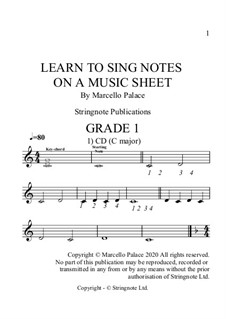 Learn to sing from a music sheet: Learn to sing from a music sheet by Marcello Palace