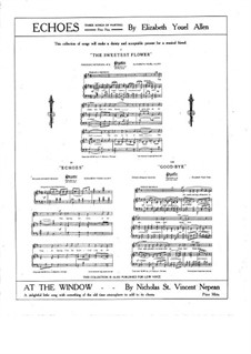 Loves Mystery. Song for Voice, Violin, Cello (ad libitum) and Piano, Op.10: Loves Mystery. Song for Voice, Violin, Cello (ad libitum) and Piano by Albert Küssner