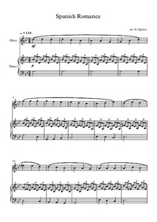 Spanish Romance: For oboe and piano by folklore