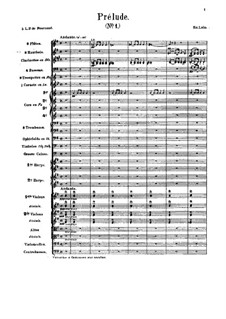 Namouna. Ballet: Suite for orchestra – full score by Édouard Lalo