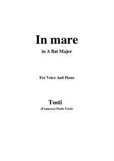 In Mare: A flat Major by Francesco Paolo Tosti