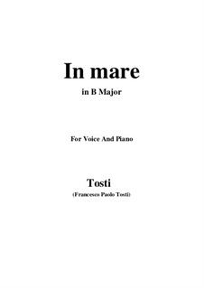 In Mare: B Major by Francesco Paolo Tosti