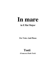 In Mare: E flat Major by Francesco Paolo Tosti