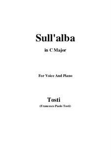Sull'alba: C Major by Francesco Paolo Tosti