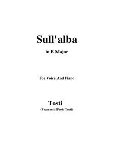 Sull'alba: B Major by Francesco Paolo Tosti
