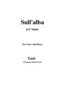Sull'alba: F Major by Francesco Paolo Tosti