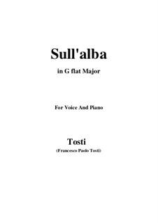 Sull'alba: G flat Major by Francesco Paolo Tosti