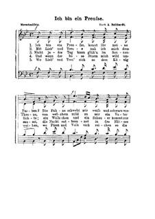 Ich bin ein Preusse: Ich bin ein Preusse by Heinrich August Neithardt